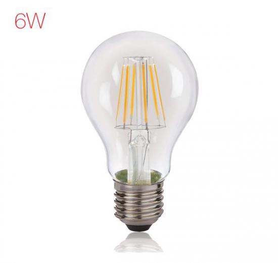 LED Filament 6W A60 WW ES