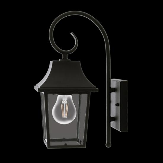 Outdoor Chic Bracket W/Lamp 1xE27