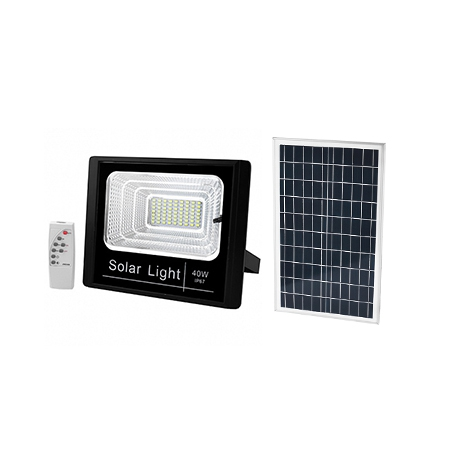 Solarfirst 40W Flood Light + Day/Night Sensor