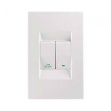 Topaz 1 Lever Switch & Bell Press Switch