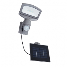 Sunshine Solar Wall Light Silver