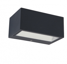 Gemini LED Wall Light 9w Graphite