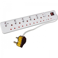 High Surge Protected 12-Way Multiplug