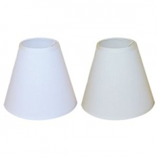 Clip on White Lamp Shade