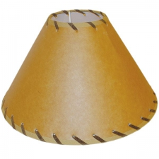 Lamp Shade 100mm x50mm x 170mm Brown Shoe String