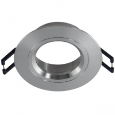 DL Straight Aluminium without lamp holder 60mm c/o