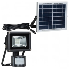 Solar LED 10w Die Cast Flood Light + Motion Sensor