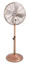 Standing Fan 4 Blades Antique Copper