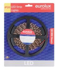 LED STRIP 3528 5M 60 PER M BLUE IP 20