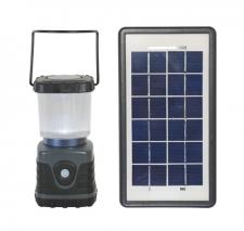 Solar Lantern Grey