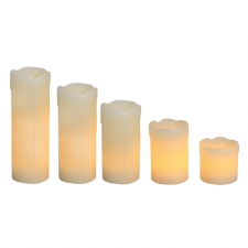 LED Flameless Candle Set 6PC