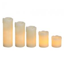LED Flameless Candle Set 6PC