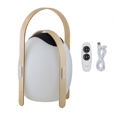OVO SPEAKER LANTERN WOODEN HANDLE