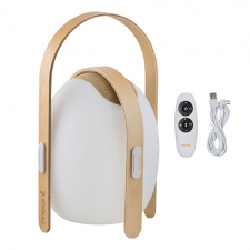 OVO MINI SPEAKER LANTERN WOODEN HANDLE