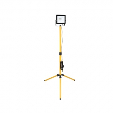 LED 20w Floodlight with Tripod, YELLOW-BLACK