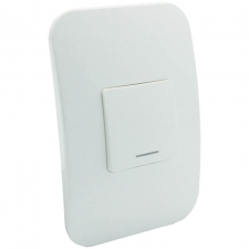 VETi 1 One Lever One-Way Light Switch White