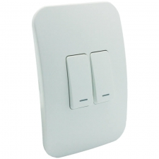 VETi 1 Two Lever One-Way Switch White