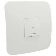 VETi 1 60A Triple Pole Isolator with Cover White
