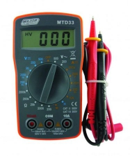 MTD33 Compact DIY Digital Multimeter
