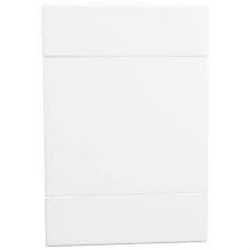 VETi 2 50 x 100mm Blank Cover Plate White