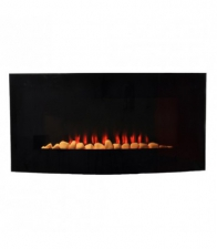 CURVED INDOOR DECORATIVE FIREPLACE 1800W