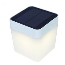 Tablecube Solar Portable Light Silver