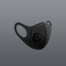 Wave Mask - With Valve Black