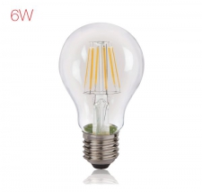 LED Filament 6W A60 WW ES