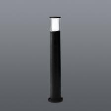 CARLO 800 BOLLARD - CLEAR - BLACK - 3.5W GU10 LED/