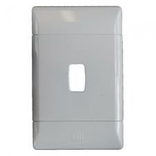 CBi GRID PLATE 1LVR 2X4 WHITE