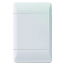 CBi GRID PLATE BLANK 2X4 WHITE