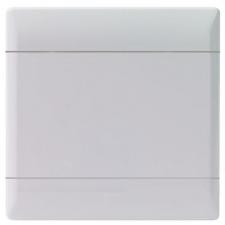 CBi GRID PLATE BLANK 4X4 WHITE