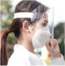 FACE SHIELD CLEAR - 10 PACK
